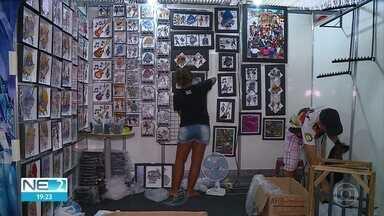 Artesãos se preparam para a Fenahall em Olinda - Feira é realizada no Classic Hall.