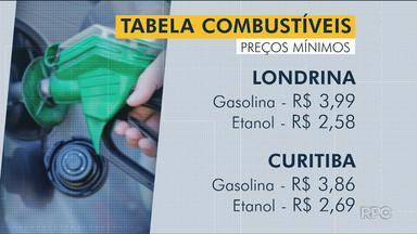 Preço dos combustíveis cai em várias cidades do Paraná - Em Cascavel, a baixa foi de R$ 0,20 no último mês.