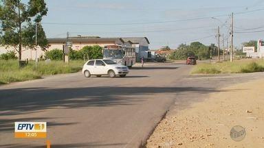 Trecho de avenida em Três Corações preocupa moradores por causa de acidentes - Trecho de avenida em Três Corações preocupa moradores por causa de acidentes