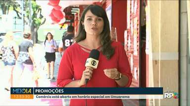 Umuarama Liquida oferece descontos que podem chegar a 70% - Comércio está aberto em horário especial em Umuarama.