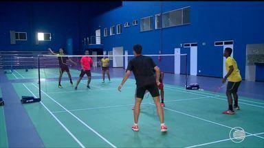 Seleção Brasileira de Badminton está em Teresina e se prepara para o Panamericano - Seleção Brasileira de Badminton está em Teresina e se prepara para o Pan