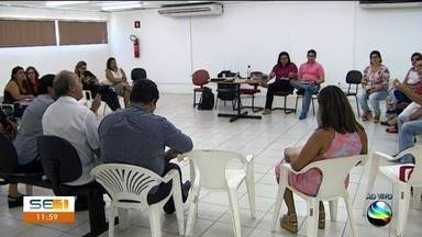 Sindicatos e Prefeitura de Aracaju se reúnem para tratar da saúde no município - Foi na sede da Secretaria da Saúde.