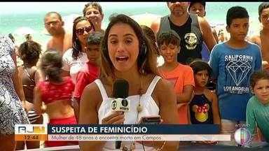 Mulher é encontrada morta dentro de casa em Campos, no RJ - Assista a seguir.