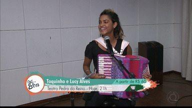 Toquinho e Lucy se apresentam em João Pessoa - Veja no Qual é a Boa.