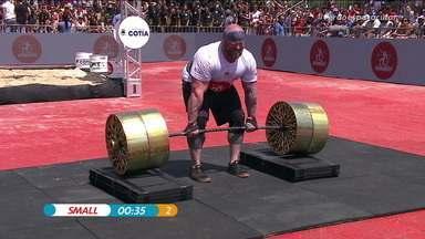 Eric Small faz dois levantamentos em 42 segundos - Eric Small faz dois levantamentos em 42 segundos