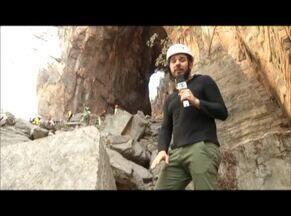 'Arco do André' se torna o mais novo roteiro turístico da Caverna do Peruaçu - Aventureiros tem mais opções de exploração.