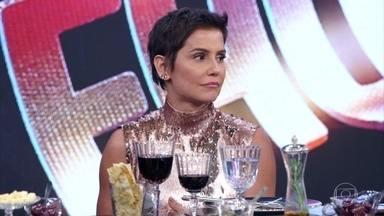 Faustão relembra trajetória de Deborah Secco no 'Domingão' - Atriz conta como foi a primeira vez que participou do programa