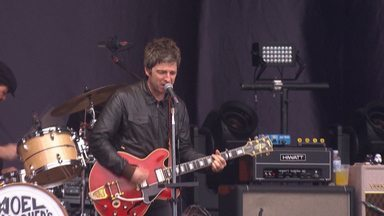 Noel Gallagher's High Flying Birds At The Hurricane Festival 2015