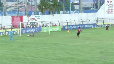 Athletico é eliminado da Copinha pelo Mirassol - Furacãozinho busca empate após sofrer dois gols, mas perde nos pênaltis