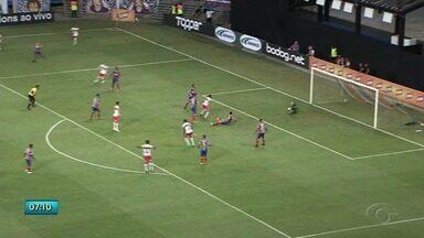 Partida entre CRB e Bahia termina em empate - Gol do Galo até animou o time, mas a equipe baiana igualou o placar.