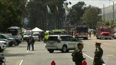 Explosão de carro-bomba mata 10 pessoas na Colômbia - Governo trabalha com a hipótese de atentado terrorista