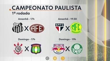 Começam os campeonatos estaduais - Dos 20 clubes que disputam o Brasileirão, 16 clubes vão começar a disputar os estaduais.