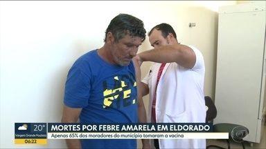 3 mortes por febre amarela foram confirmadas em Eldorado, no Vale do Ribeira - Apenas 65% dos moradores do município estão vacinados