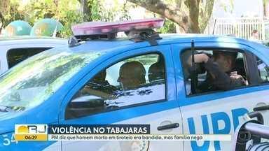 Polícia investiga morte de homem na Ladeira dos Tabajaras - Jonas de Andrade, de 25 anos, morreu em confronto, segundo a Polícia. Família nega envolvimento do jovem no crime.
