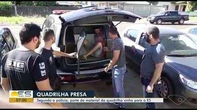 Operação em três estados mira família de atacadistas de drogas e armas; 13 são presos - Policiais tinham 19 mandados de prisão a cumprir no Rio de Janeiro, no Espírito Santo e em Mato Grosso do Sul.