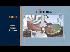 MG Cultura: Confira as dicas para o final de semana - Em Timóteo, tem show do Terra Samba.