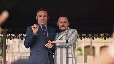 Episódio 10 - Lindoso e Olegário seguem na disputa para o cargo de prefeito. E o destino de Francis parece estar se desenhando: ele colocou o Cine Holliúdy à venda e Marylin vai fazer novelas.