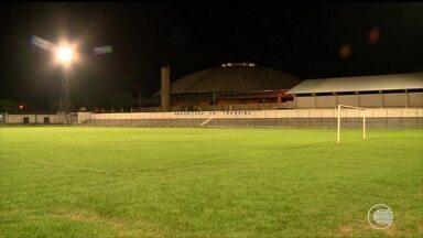 Estádio de abertura do estadual ésta pronto para receber jogos do Piauiense - Estádio de abertura do estadual ésta pronto para receber jogos do Piauiense