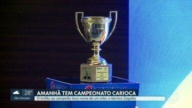 Vai começar o Carioca-2019 - Troféu leva o nome de Zagallo. O Vasco abre o Campeonato contra o Madureira e o Fluminense enfrenta o Volta Redonda no Maracanã.