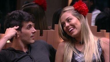 Isabella fala para Maycon: 'Você era mais fofo' - Brothers aguardam Tiago