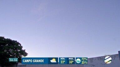 Veja a previsão do tempo pra esta segunda e pros próximos dias da semana - Sol promete aparecer, temperaturas voltam a subir e tem previsão de pancadas de chuva em todo o Estado