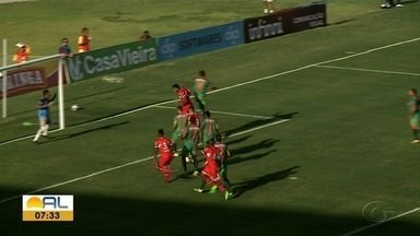 No Rei Pelé, CRB vence o Coruripe - Partida terminou em 1x0.