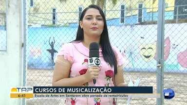 Começa nesta segunda o período de rematrícula na Escola de Artes de Santarém - Alunos deve fazer a rematrícula na secretaria da escola. O período vai de 21 a 25 de janeiro.