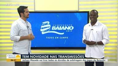 Notícias de Bahia e Vitória; comentarista de arbitragem; agenda amadora: veja no esporte - Confira os destaques do esporte do JM.