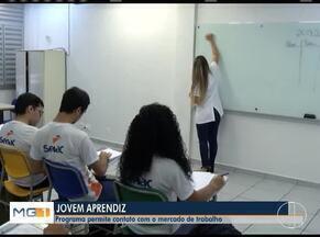 Programa Jovem Aprendiz é a escolha de muitos estudantes para o primeiro trabalho - Oportunidade pode se transformar em emprego fixo.