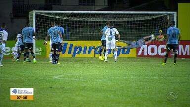 Veja os gols do empate entre Aimoré 1x1 Grêmio - Assista ao vídeo.
