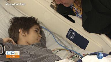 Morre criança que lutava contra uma doença rara em um hospital de Salvador - Ele teve uma parada cardíaca, mas não resistiu.