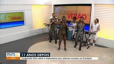 Banda Timbalada é a convidada do Bahia Meio Dia desta sexta-feira (25) - Confira a passagem as informações sobre o grupo.