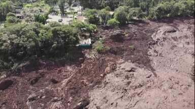 Entenda como foi o rompimento da barragem no Complexo do Feijão, em Brumadinho - Entenda como foi o rompimento da barragem no Complexo do Feijão, em Brumadinho