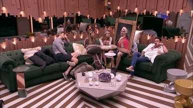 Paula consola Maycon: 'Calma, amiguinho' - Brothers conversam