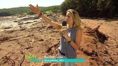 Bem Estar acompanha o trabalho em Brumadinho - A apresentadora Mariana Ferrão acompanhou o resgate de um corpo em uma chácara de Brumadinho.