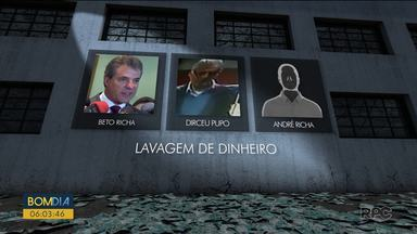 Beto Richa, André Richa e Dirceu Pupo são denunciados por lavagem de dinheiro - Nova denúncia foi apresentada pelo Ministério Público Federal.