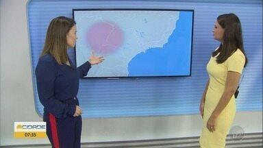 Confira a previsão do tempo para as regiões de Campinas, Ribeirão Preto e Central - O calor continua, com possibilidade de pancadas de chuva isoladas.
