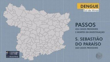 Incidência de dengue em Passos e São Sebastião do Paraíso muda de média para alta - Incidência de dengue em Passos e São Sebastião do Paraíso muda de média para alta