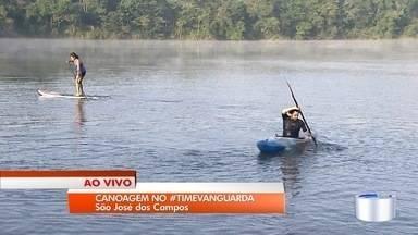 Canoagem e stand up paddle no #TimeVanguarda - Projeto incentiva hábitos saudáveis.