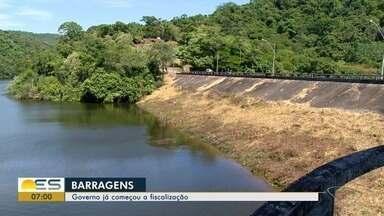 Governo começa fiscalização de barragens no Espírito Santo - Duas Bocas foi a primeira a ser fiscalizada.