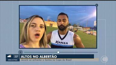 Altos vai enfrentar o Santos na Copa do Brasil no Albertão - Altos vai enfrentar o Santos na Copa do Brasil no Albertão
