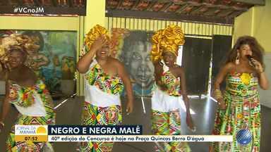 Malê de Balê escolhe jovem representante do carnaval - Concurso acontece nesta quinta-feira (31) na Praça Quincas Berro D'água.