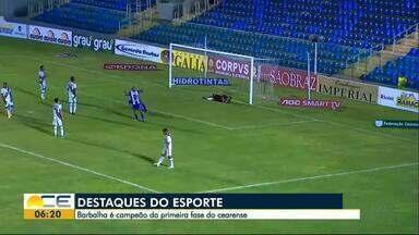 Barbalha garante vaga na Copa do Brasil de 2020 - Kaio Cézar comenta os destaques no bloco de Esportes.
