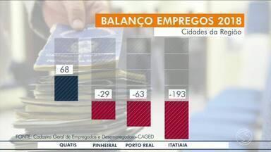Veja balanço de contratações em cidades do Sul do Rio - Maior parte dos municípios da região tem números positivos.