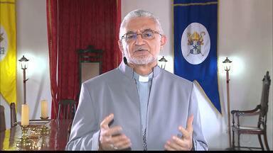 Dom Delson participa de reunião com representantes do Vaticano, em Brasília - A Arquidiocese não confirma a pauta da reunião.