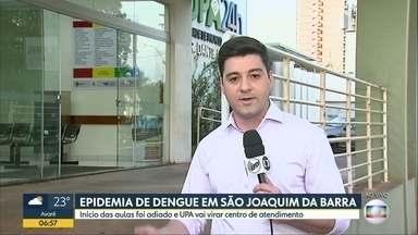 São João da Barra tem epidemia de dengue - Início das aulas foi adiado e UPA vai virar centro de atendimento