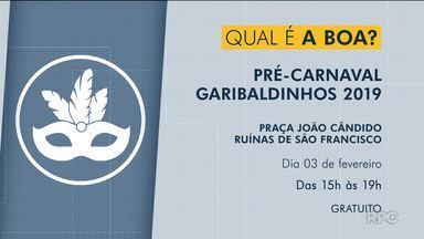 Programação de carnaval de Curitiba começa neste fim de semana - A primeira atração é o Gribaldinhos.
