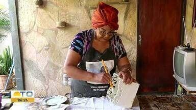 Mulheres utilizam o artesanato como terapia para superar problemas de saúde - Mulheres utilizam o artesanato como terapia para superar problemas de saúde