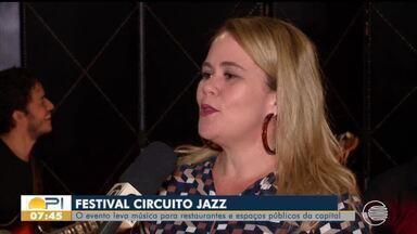 Circuito Jazz leva música para restaurantes e espaços públicos da capital - Circuito Jazz leva música para restaurantes e espaços públicos da capital