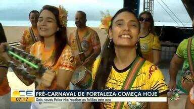 Pré-Carnaval de Fortaleza começa hoje (1) - Programação abre à noite na Praça do Ferreira, no Centro.